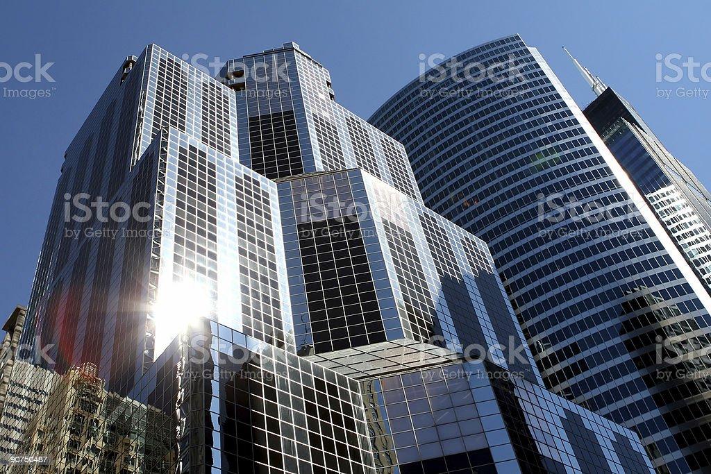 corporate buildings (original) royalty-free stock photo