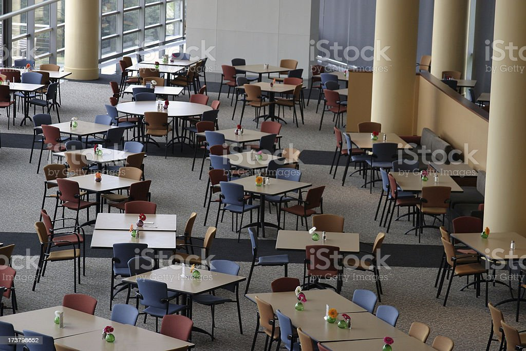 Corporate Cafe royalty-free stock photo