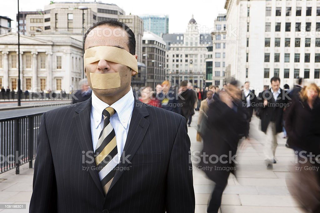 corporate clone royalty-free stock photo