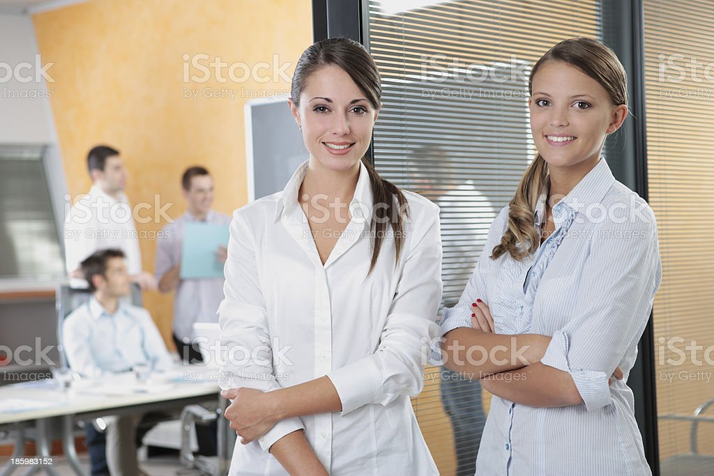 Corporate Confidence royalty-free stock photo