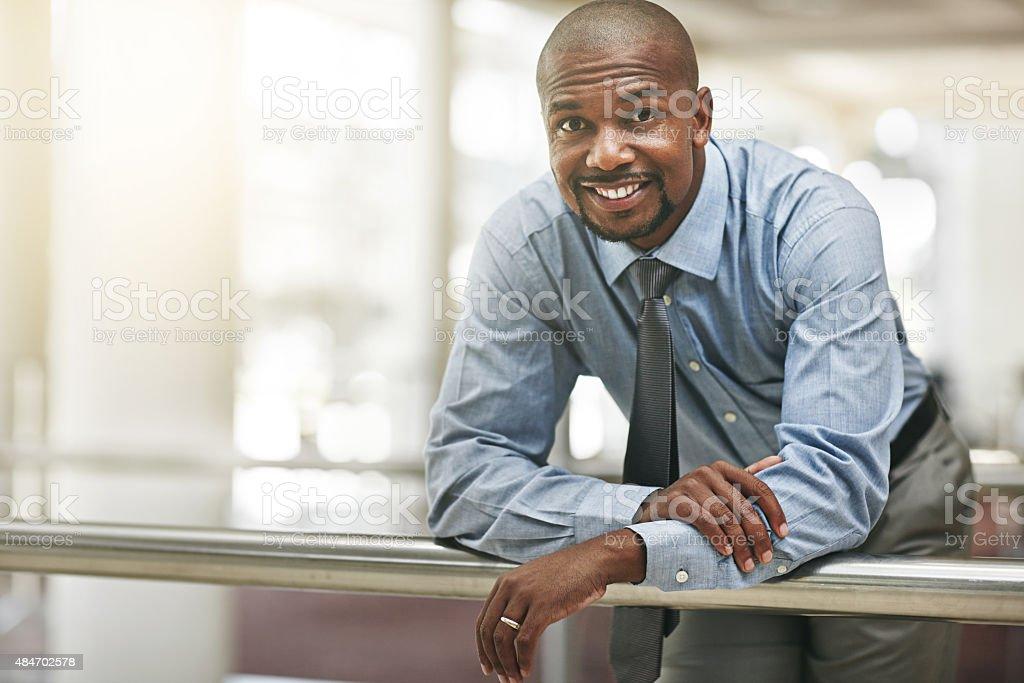 Corporate confidence stock photo