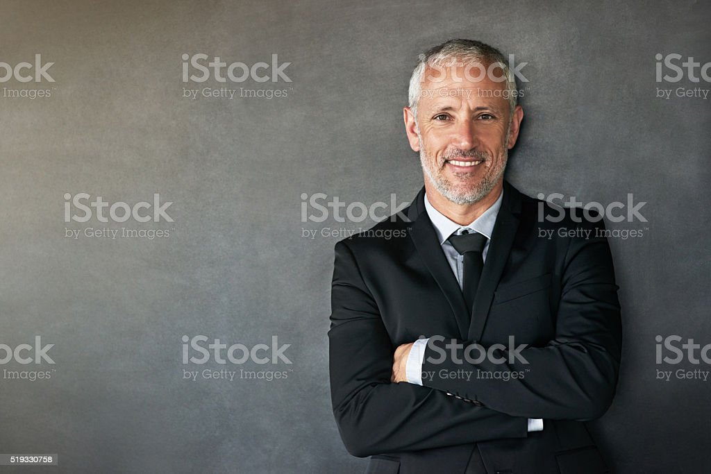 Corporate confidence stock photo