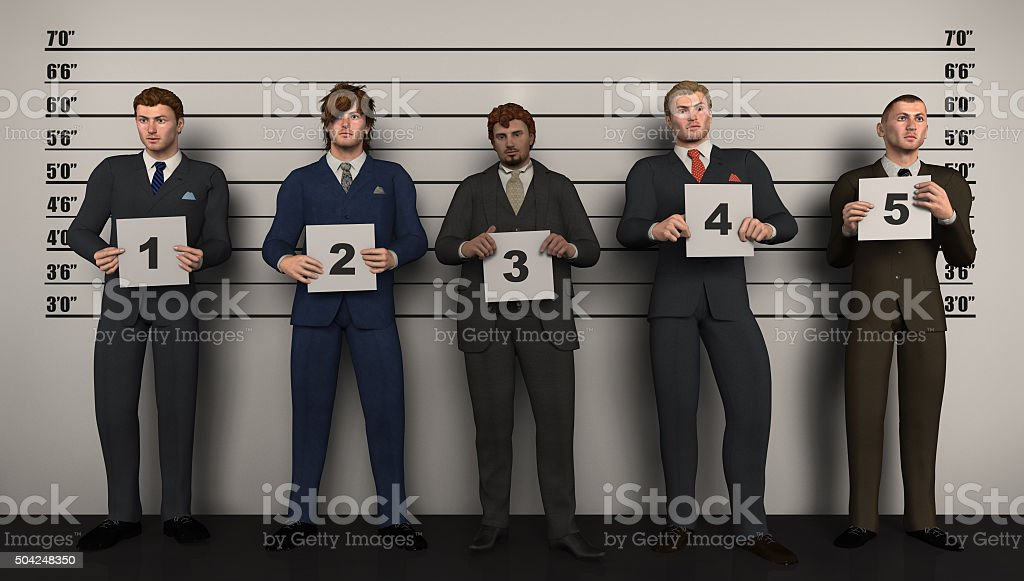 Corporate Crimminals stock photo