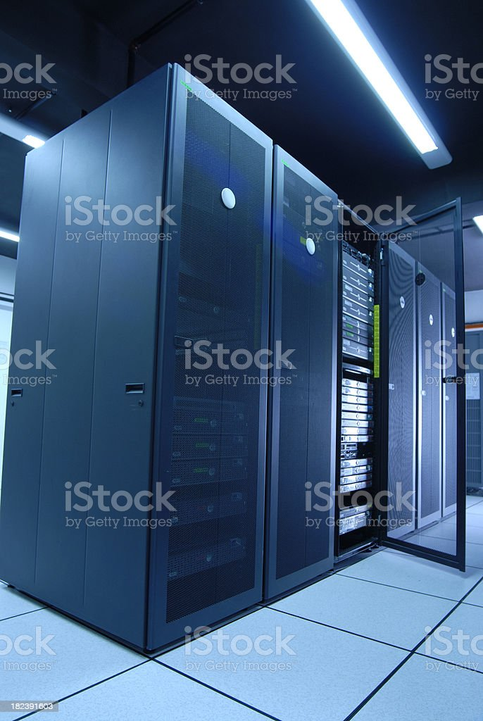 Corporate Data Center royalty-free stock photo