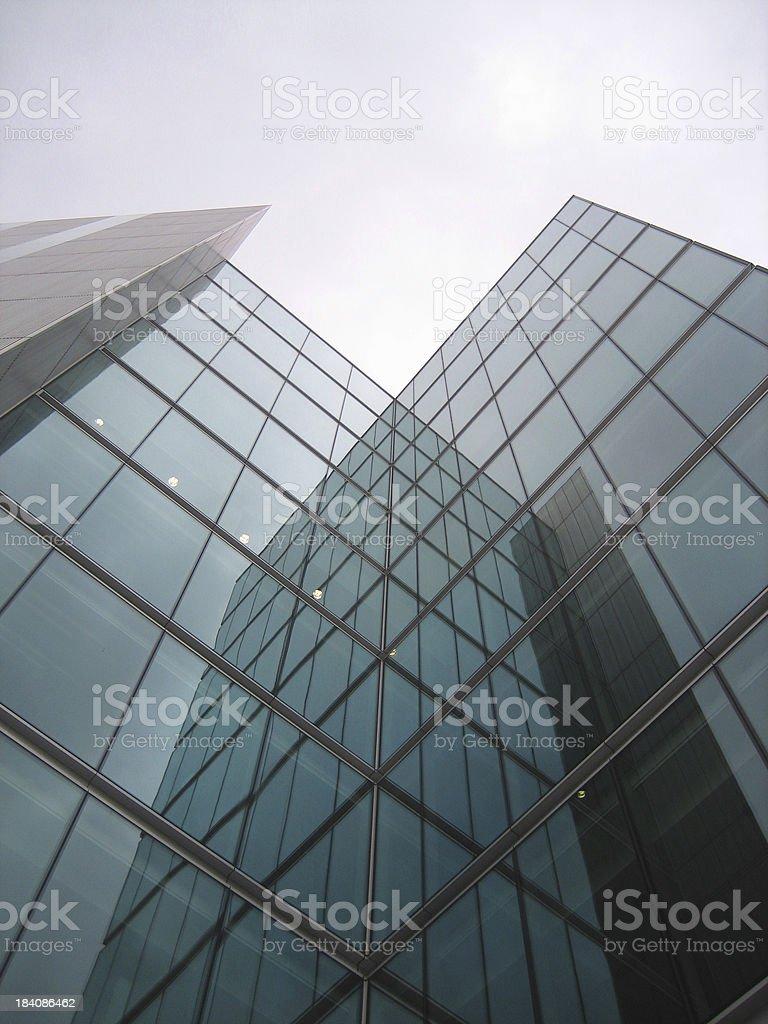 Corporate facade series royalty-free stock photo