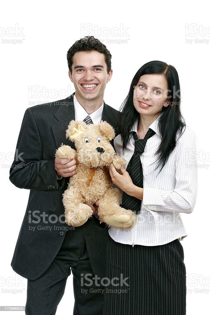 Corporate gift royalty-free stock photo