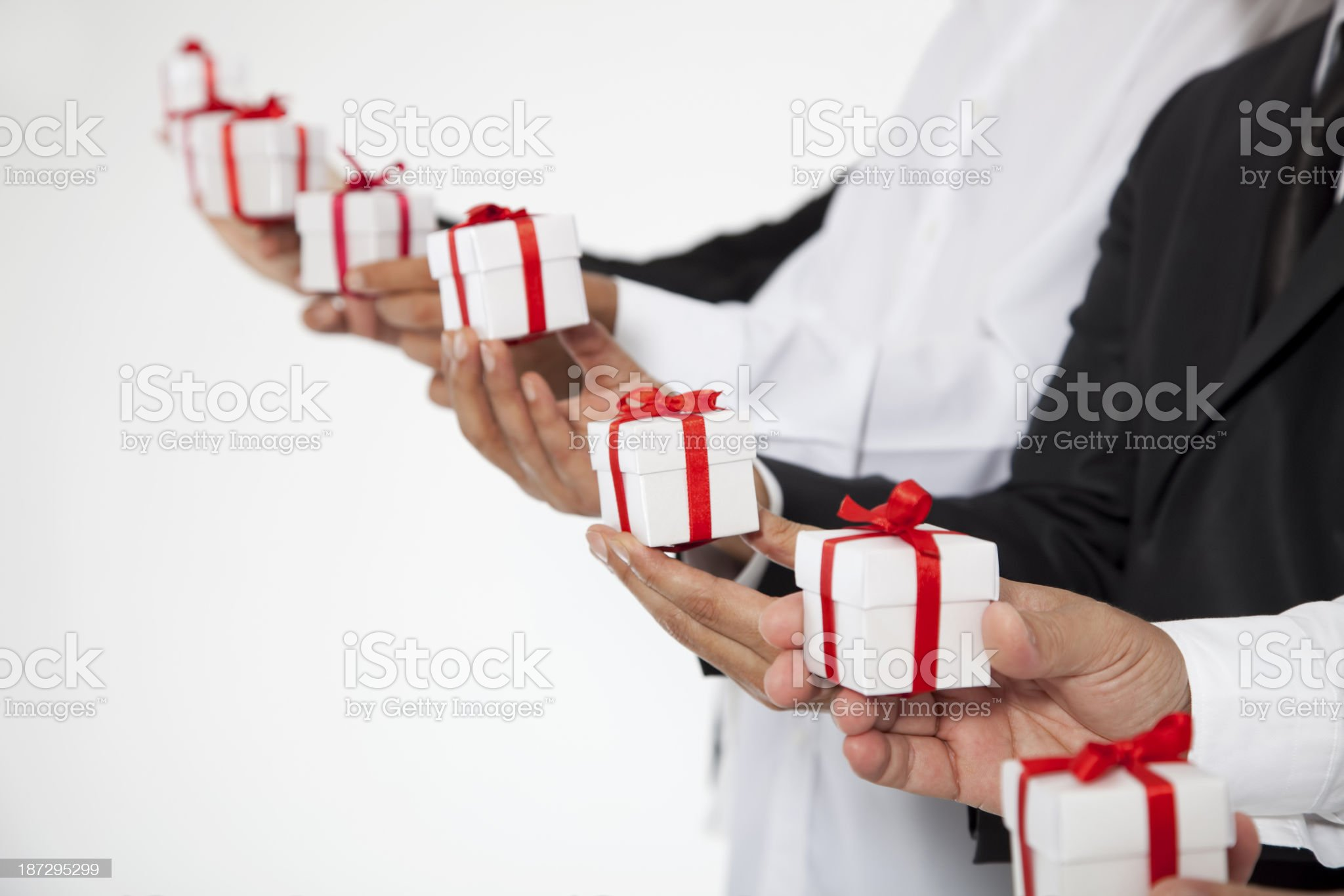 Corporate Gifts royalty-free stock photo