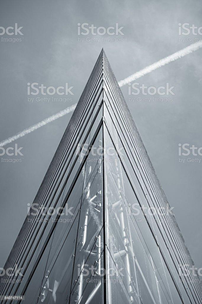 Corporate Glass and Steel in Düsseldorf stock photo