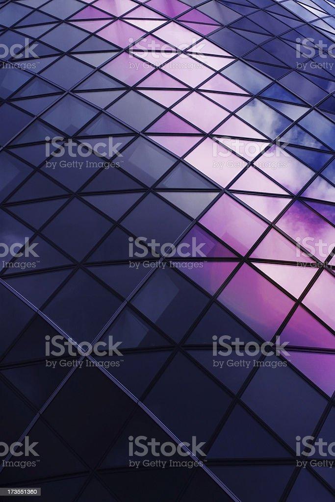 Corporate Glass stock photo