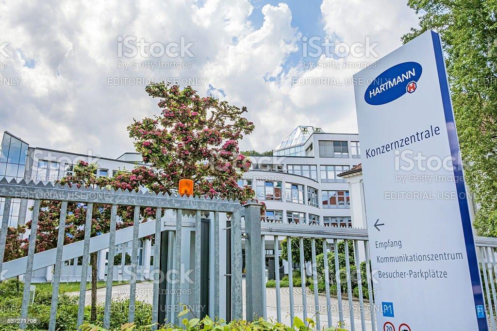 Corporate head office of Hartmann AG, Heidenheim, Germany stock photo