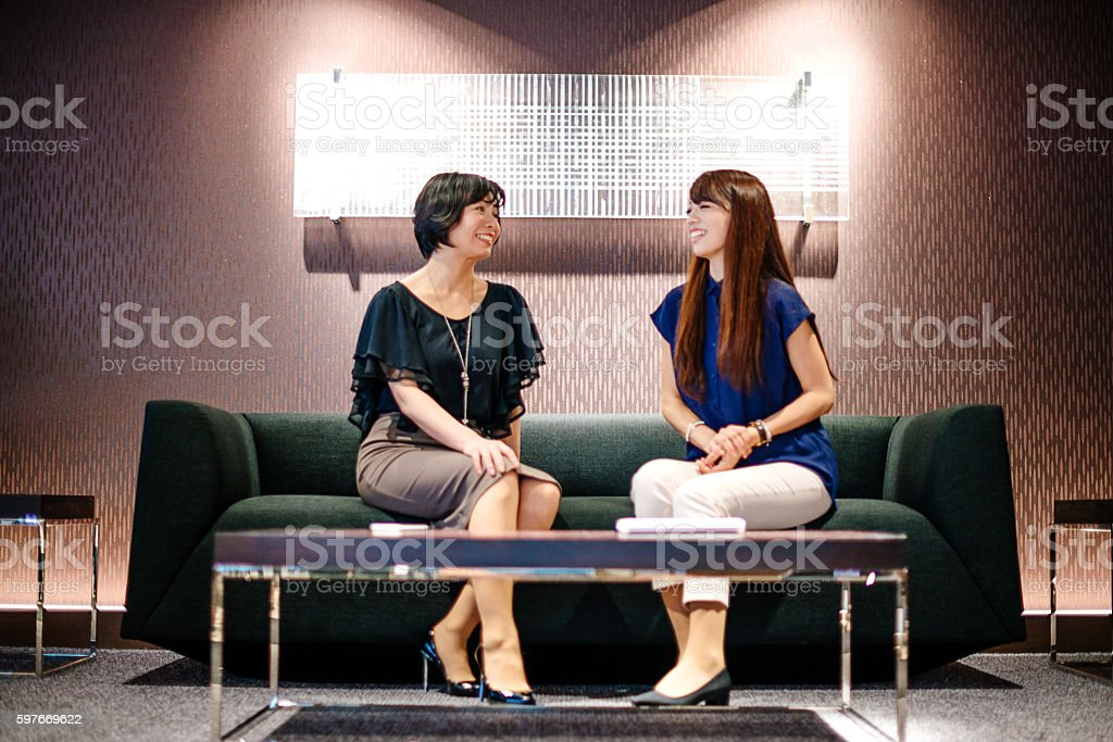 Corporate hierarchy in Japanese companies stock photo
