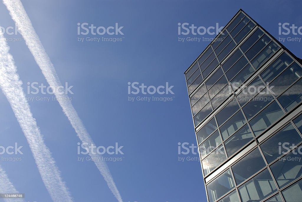 Corporate Highrise royalty-free stock photo
