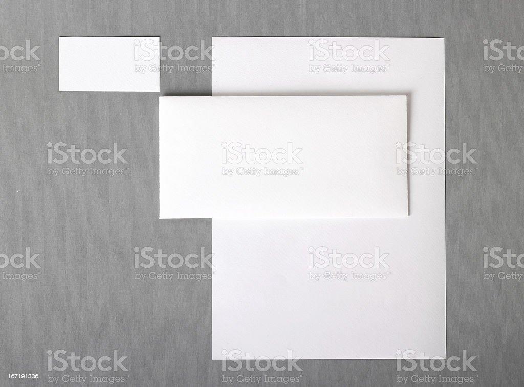 Corporate identity stock photo