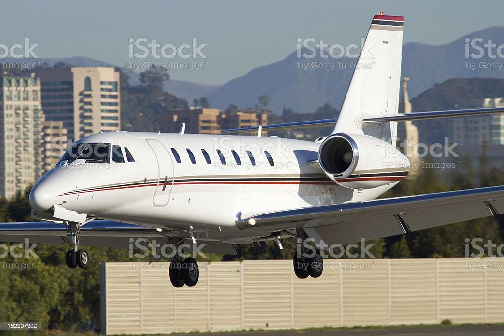 Corporate Jet royalty-free stock photo