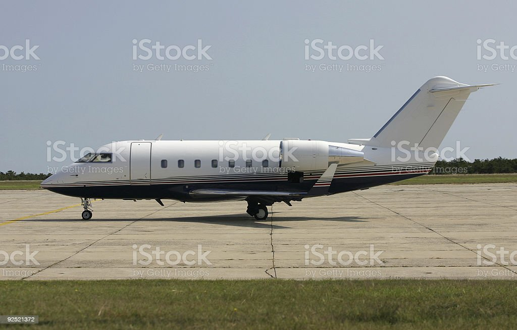 Corporate Jet #1 royalty-free stock photo