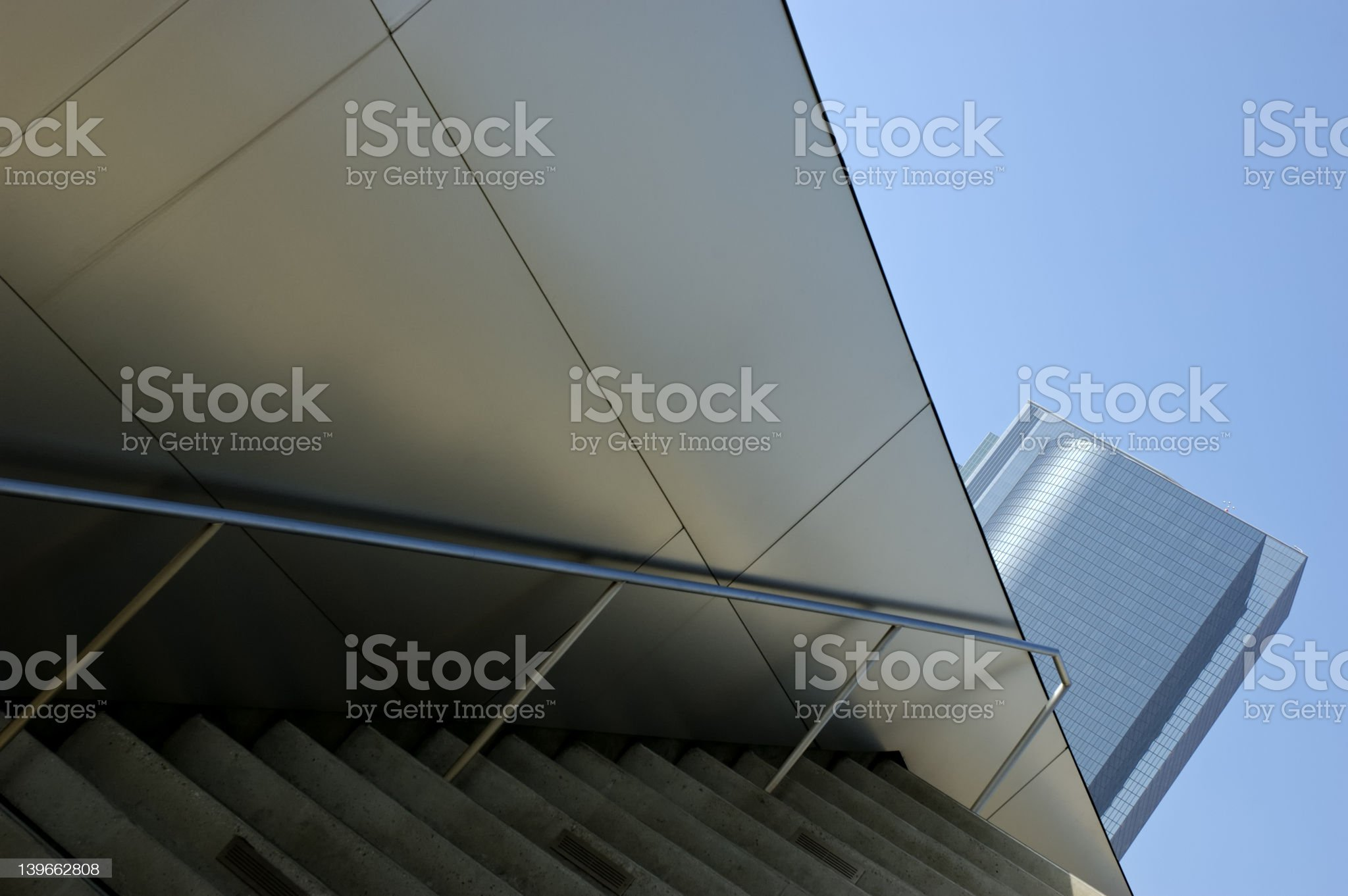 Corporate L.A. royalty-free stock photo