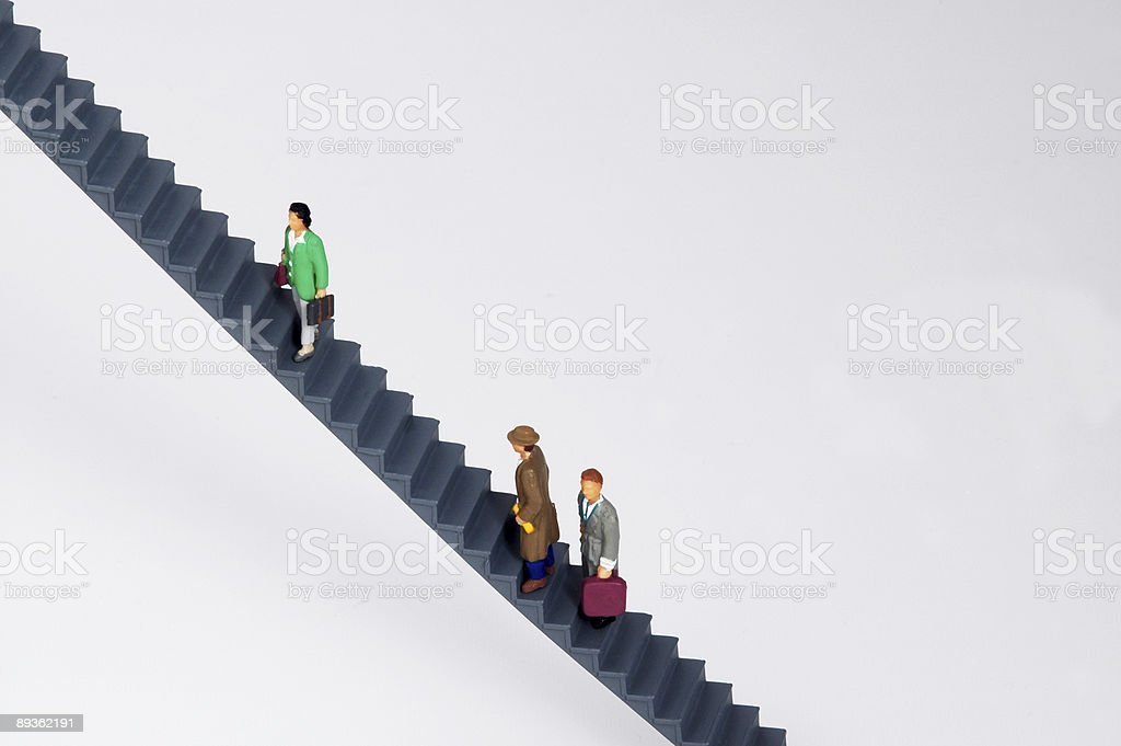 Corporate Ladder / Steps royalty-free stock photo