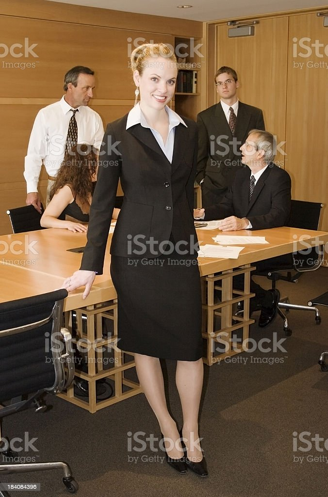 Corporate Leader royalty-free stock photo