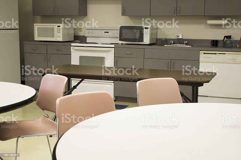 corporate lunchroom stock photo