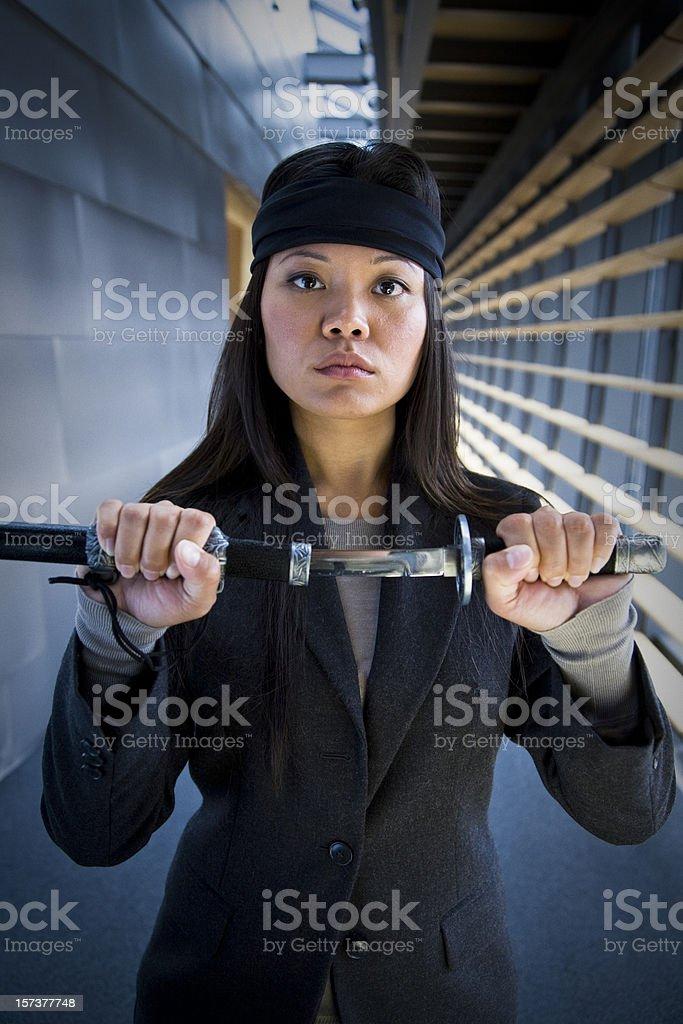 corporate ninja stock photo