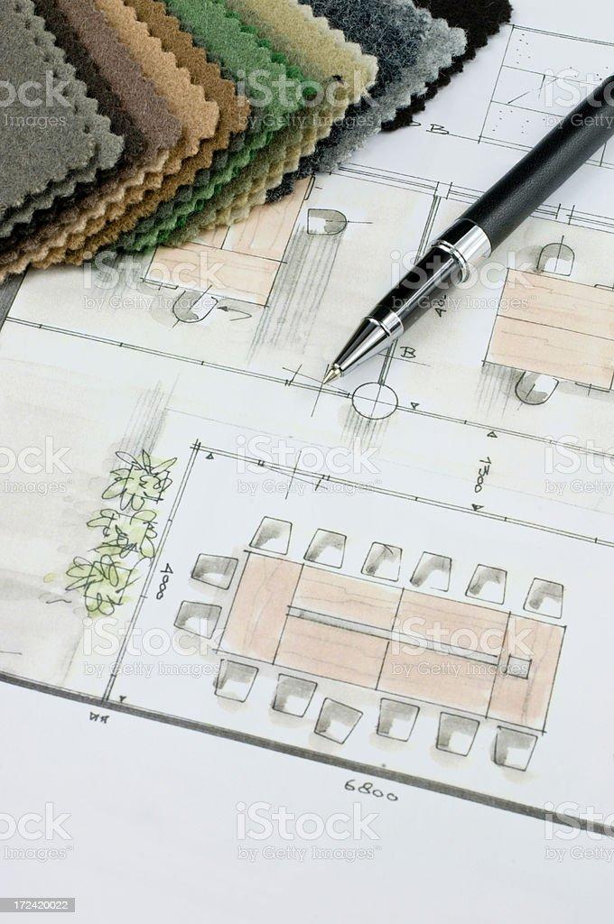 Corporate Office Design stock photo