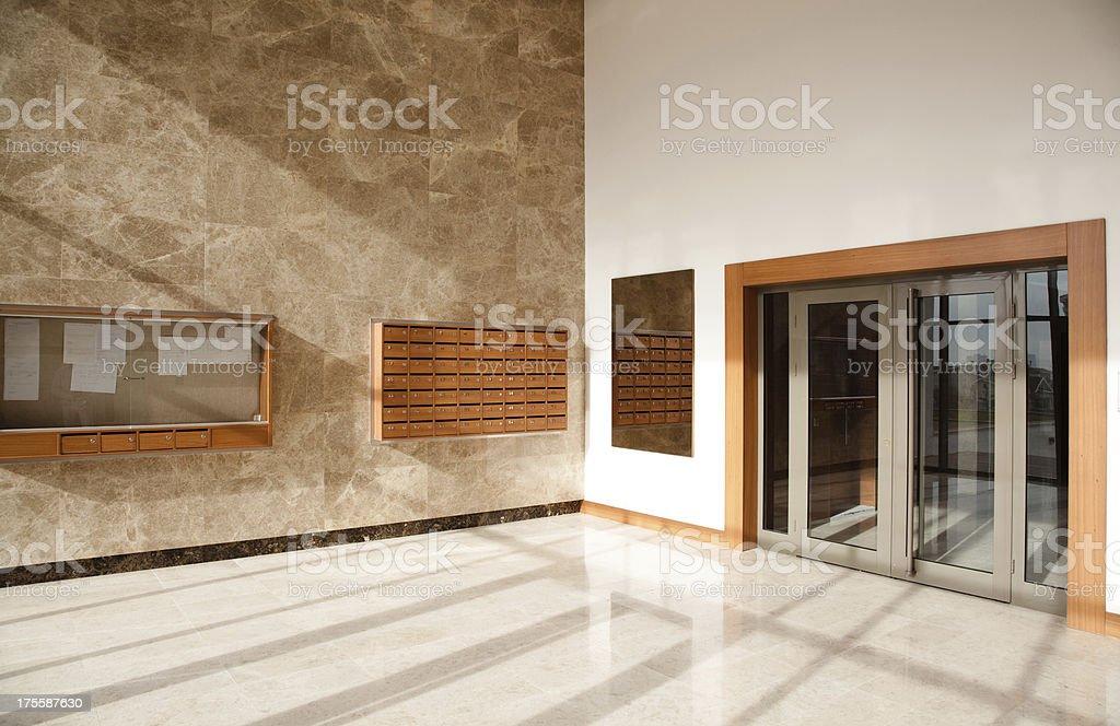 Corporate Office Lobby royalty-free stock photo