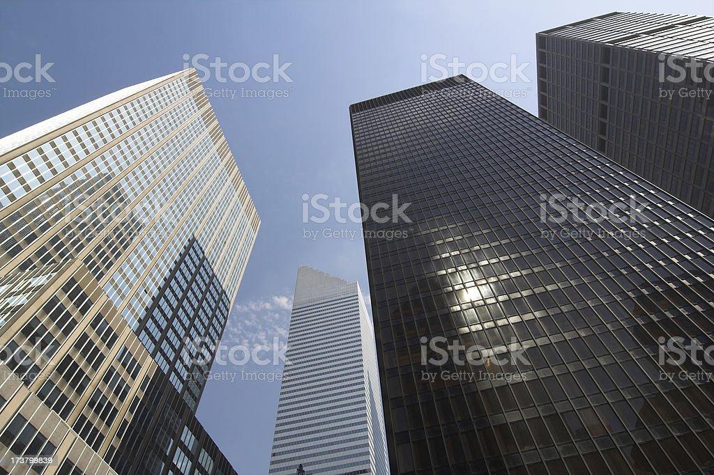Corporate Powerhouses stock photo