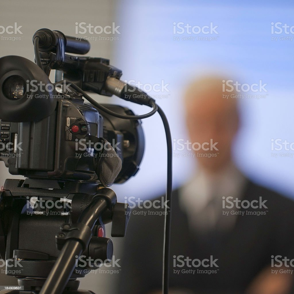 Corporate presentation stock photo