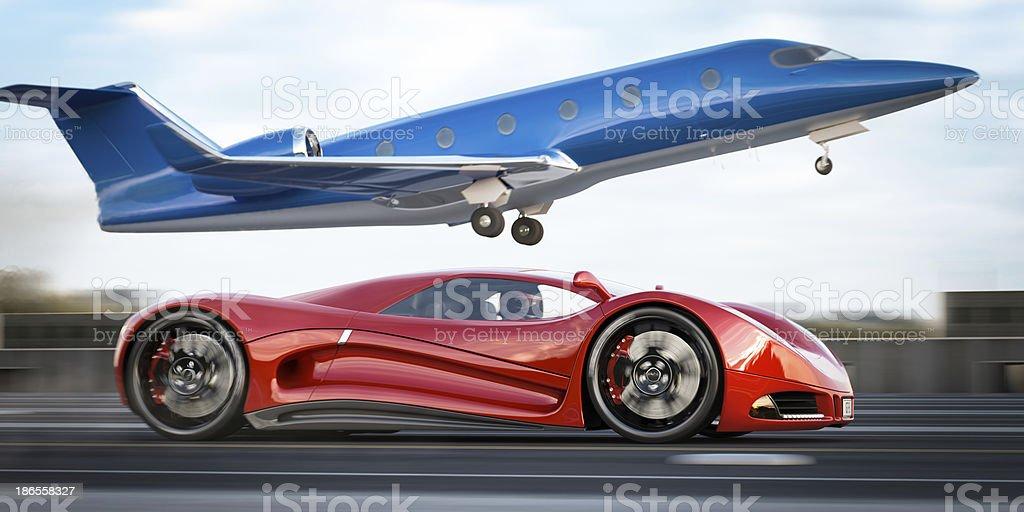 Corporate Race stock photo