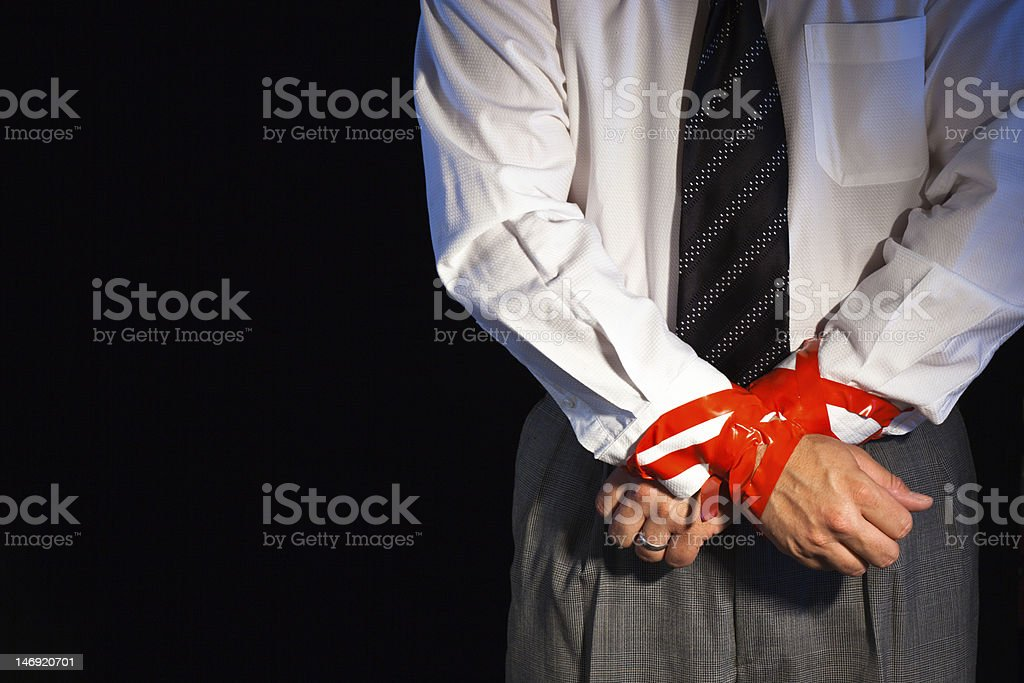 Corporate Rodeo stock photo