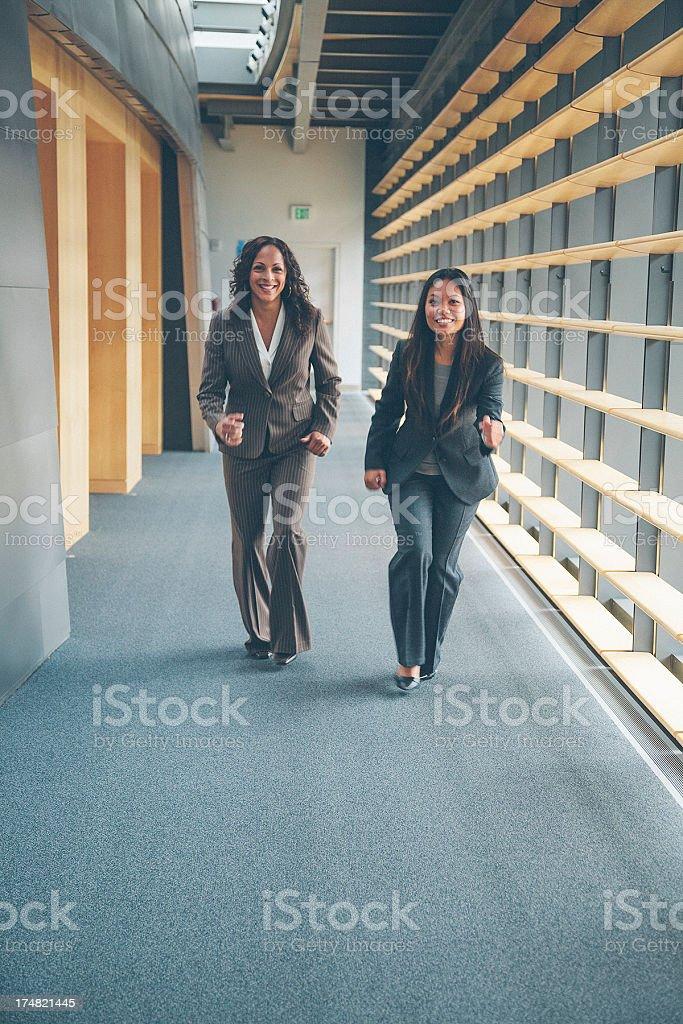 corporate run royalty-free stock photo