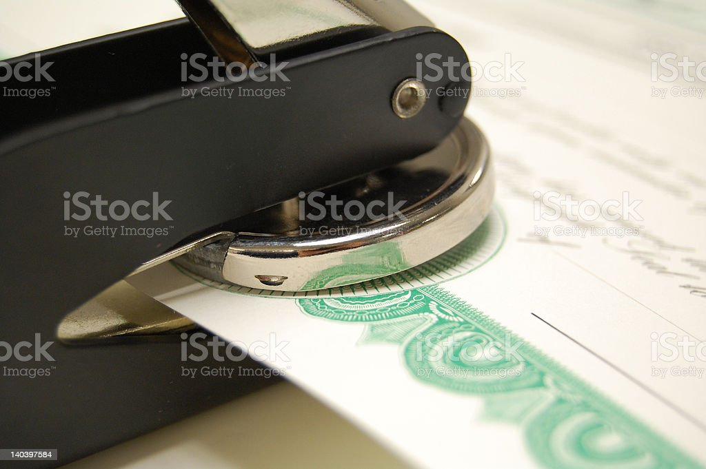Corporate Seal stock photo