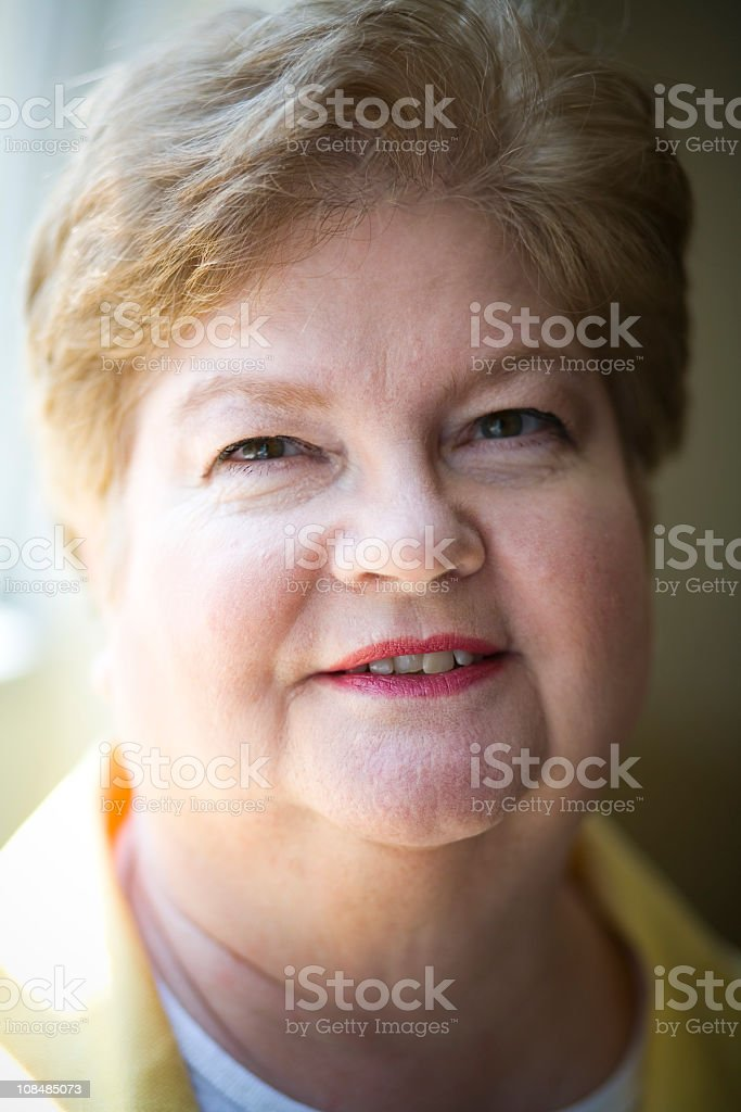Corporate Senior royalty-free stock photo