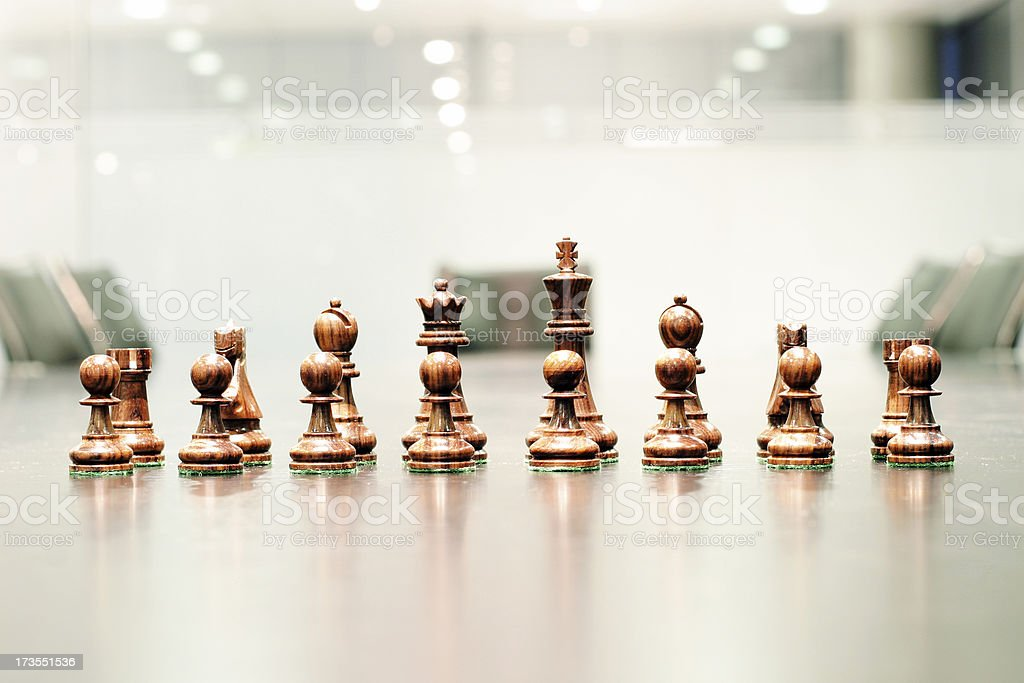 Corporate strategy 4 royalty-free stock photo