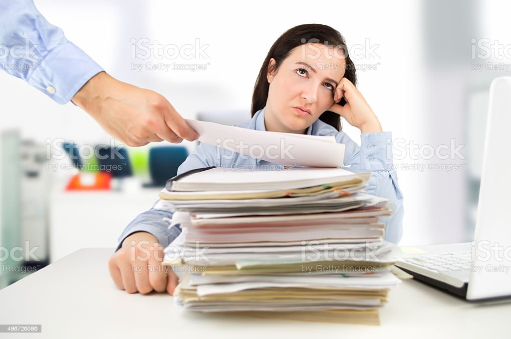 corporate stress stock photo