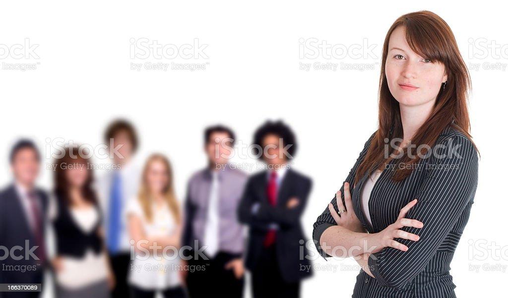 Corporate Team royalty-free stock photo