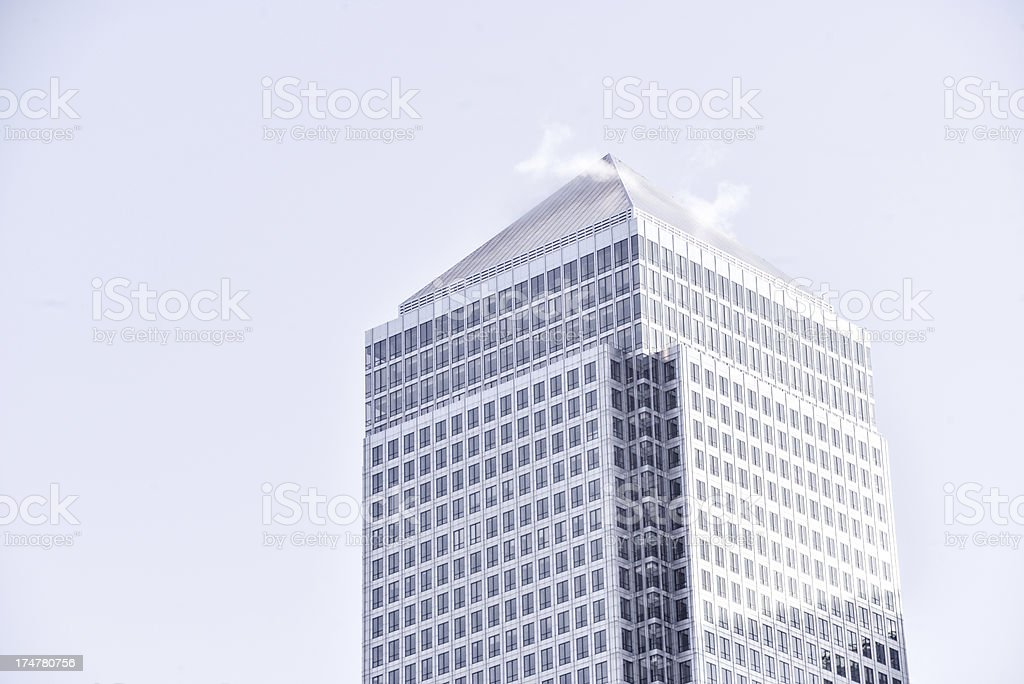 Corporate Tower royalty-free stock photo
