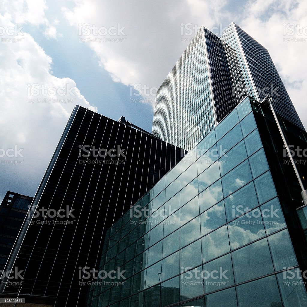 Corporate Towers royalty-free stock photo