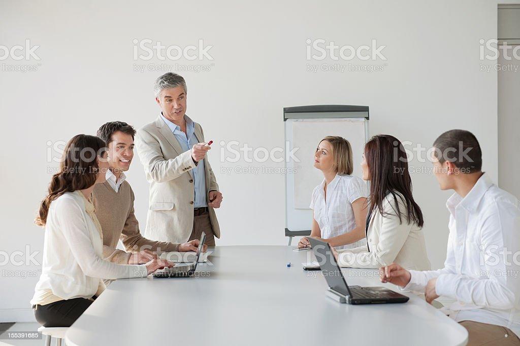 Corporate Training stock photo