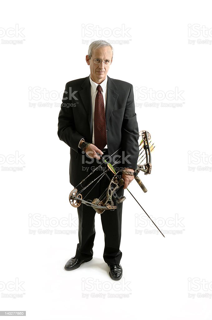 Corporate Warrior 3 stock photo