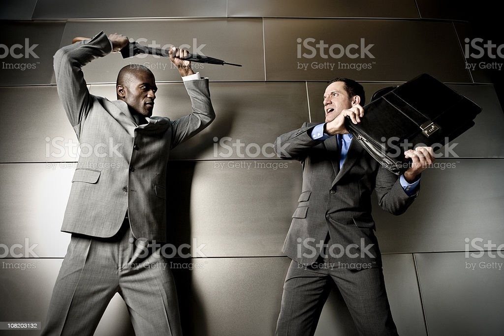 Corporate Wars royalty-free stock photo