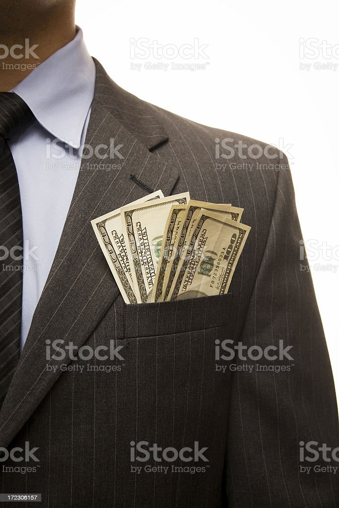Corporate wealth royalty-free stock photo