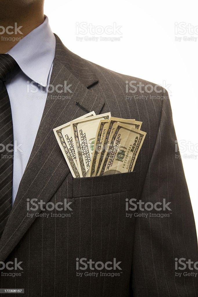 Corporate wealth stock photo