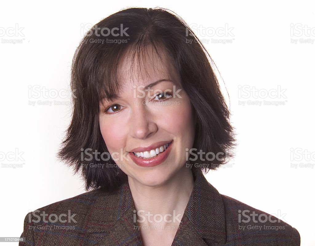corporate woman royalty-free stock photo