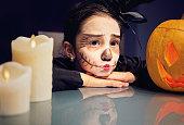 Corpse bride at Halloween
