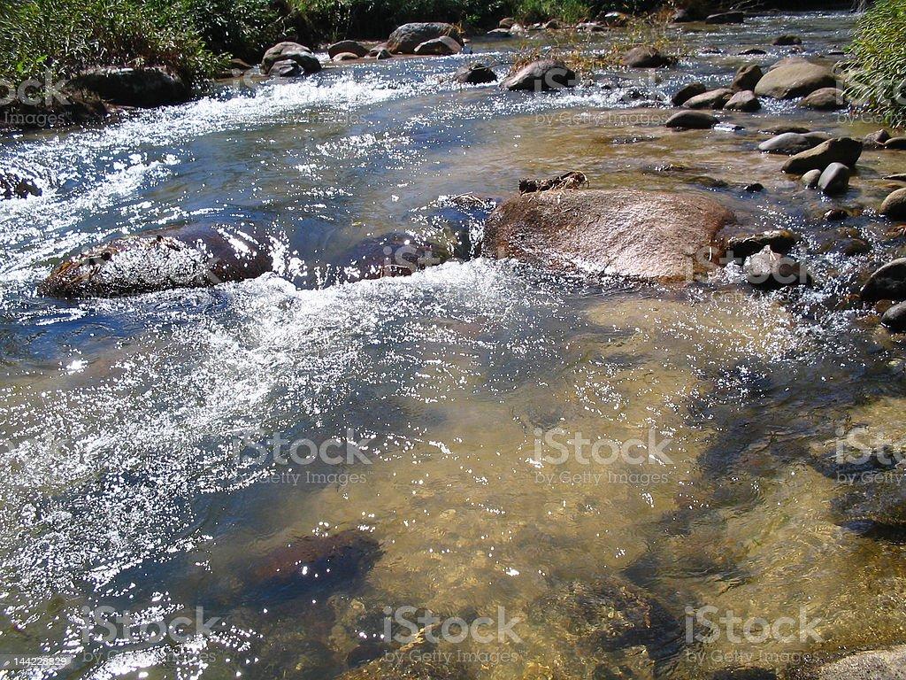 corre o rio royalty-free stock photo