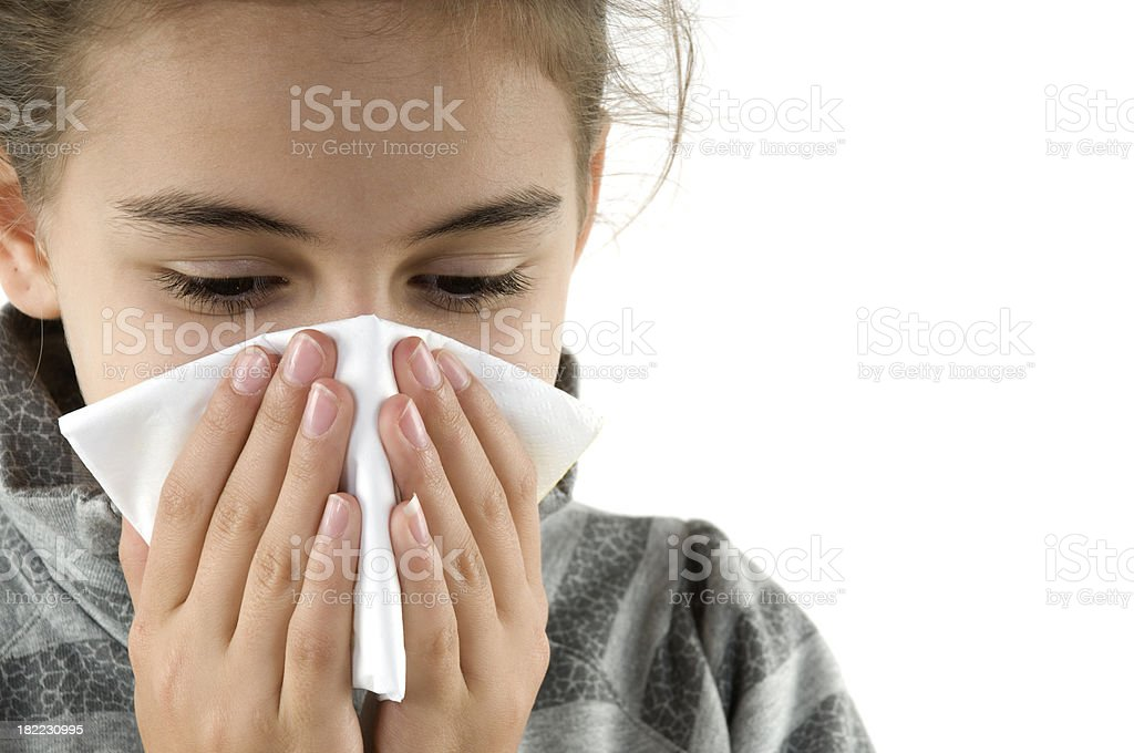 Correct hygiene royalty-free stock photo