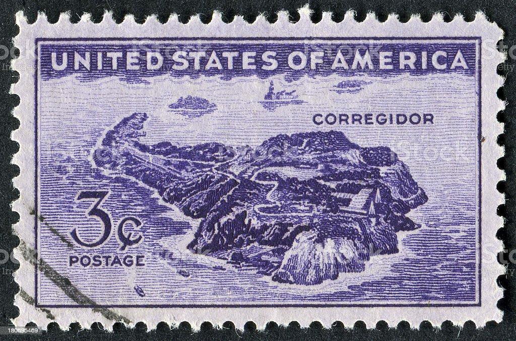 Corregidor Island royalty-free stock photo