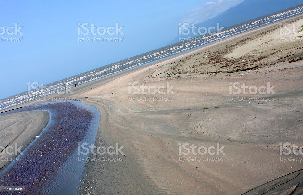 Corrego para o Mar royalty-free stock photo
