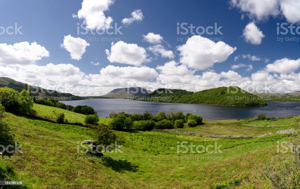 Corrib Lake stock photo